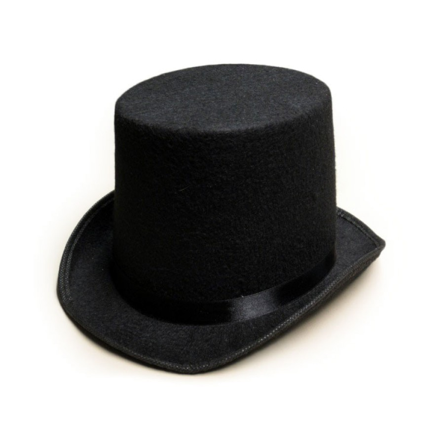 abraham lincoln black top hat tall stove pipe abe mr