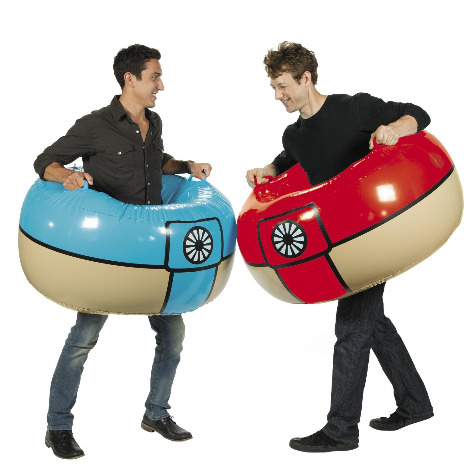 Socker Boppers Sumo: Inflatable Body Boppers Novelty Vinyl Wrestling Bop Sumo