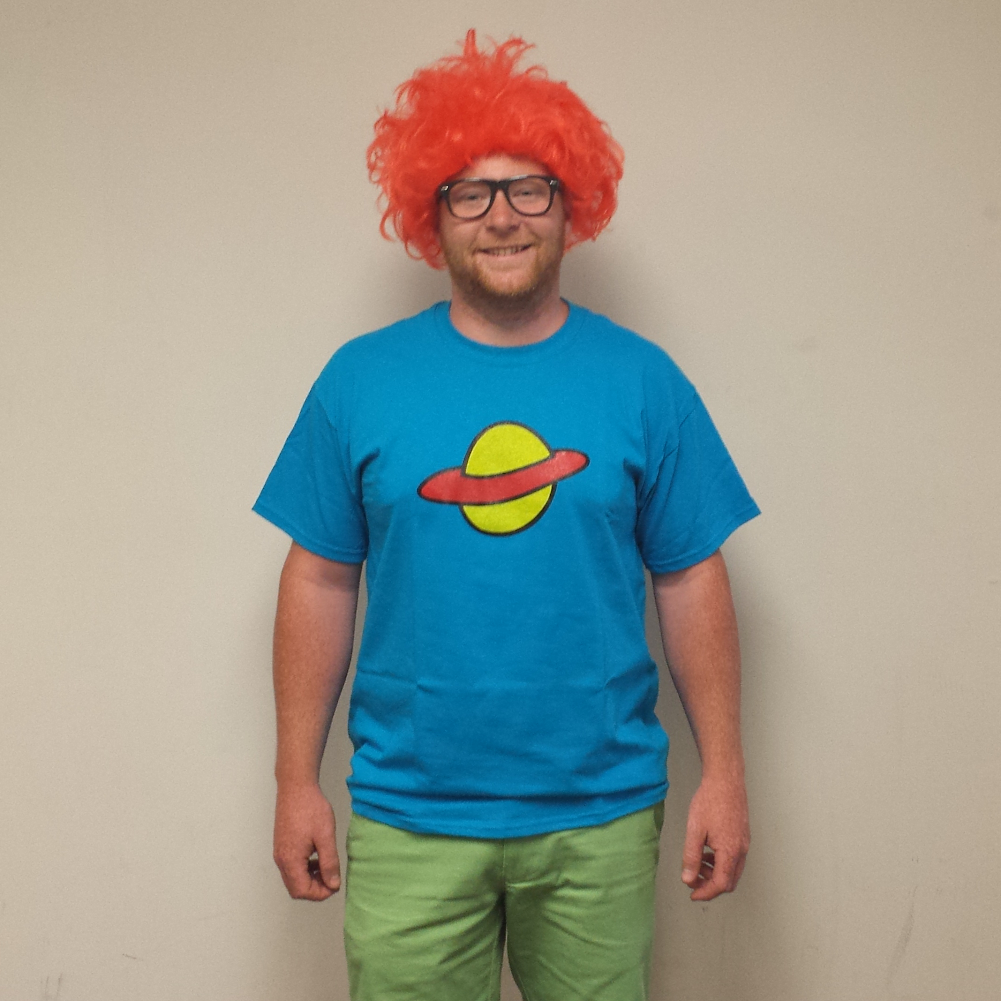 Chuckie Finster T-Shirt Costume Saturn Rugrats New | eBay