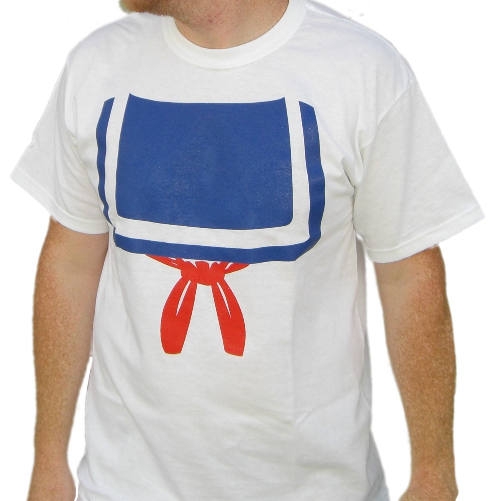 Stay-Puft-Marshmallow-Man-T-Shirt-Costume-Ghostbusters-New