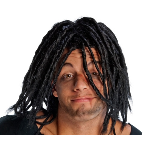 Adult Black Dreadlocks Wig Rasta Jamaican Locks Dreads ...