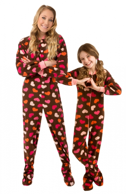 Adult Pajamas With The Feet 3