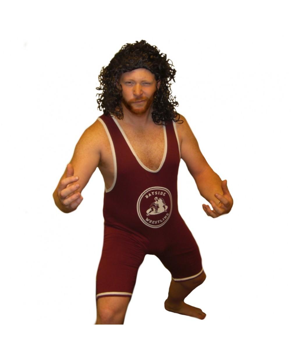 ac slater bayside wrestling singlet costume