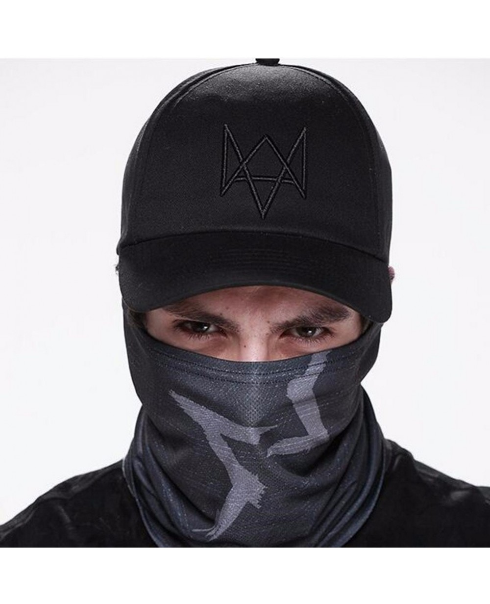 Aiden Pearce Black Half Face Mask Version 2