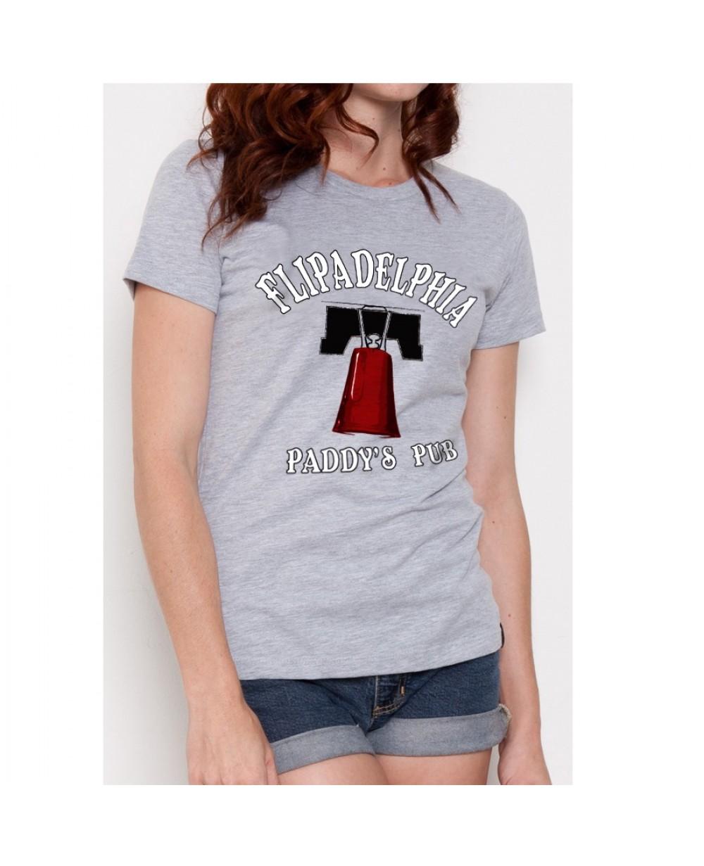 Flipadelphia It S Always Sunny In Philadelphia Womens T Shirt