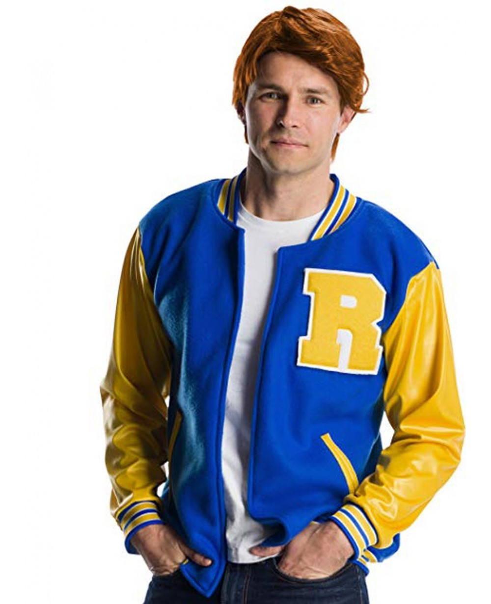 More Views. Archie Andrews Varsity Jacket And Wig Riverdale Costume 134310dec