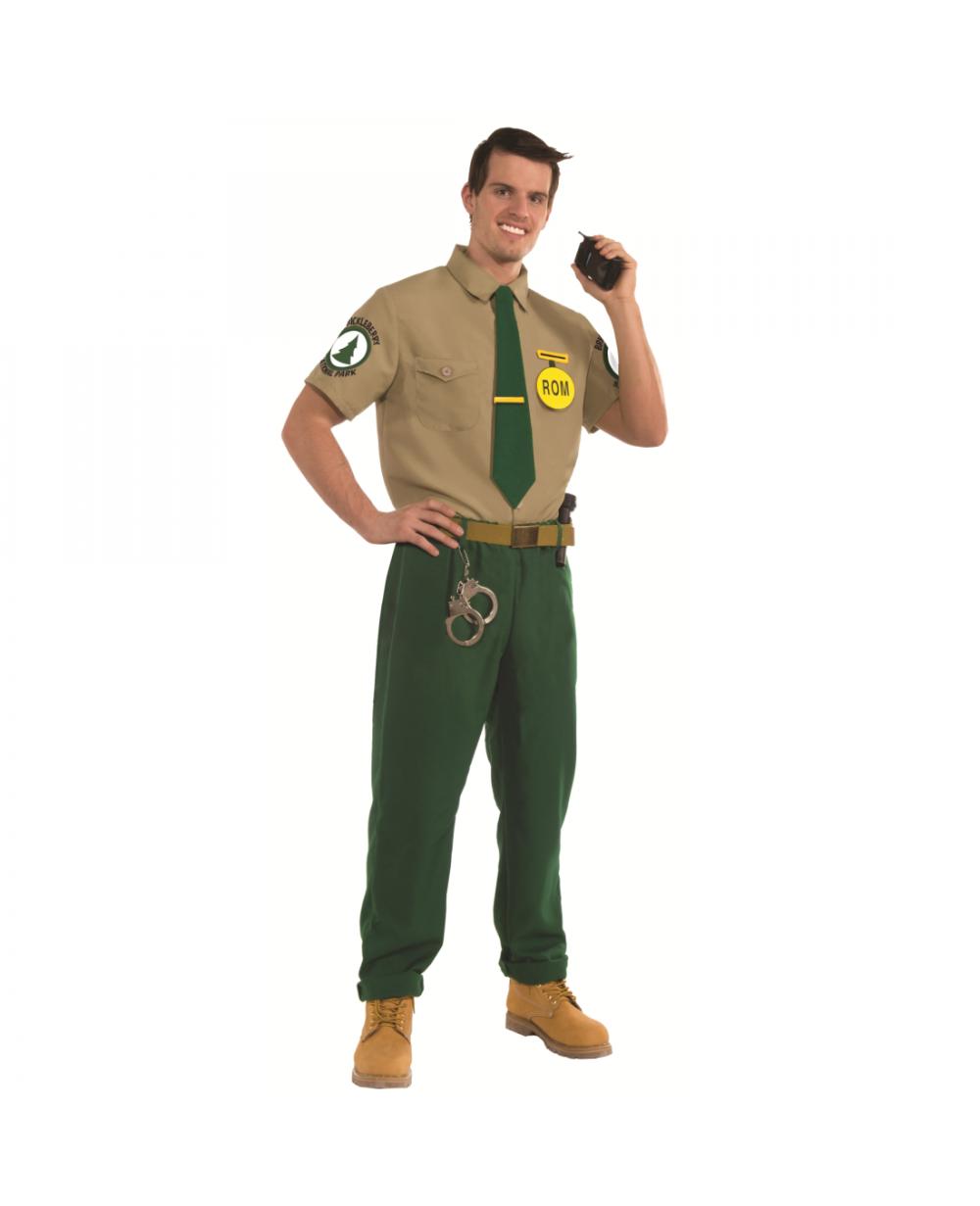 steve williams brickleberry ranger adult costume