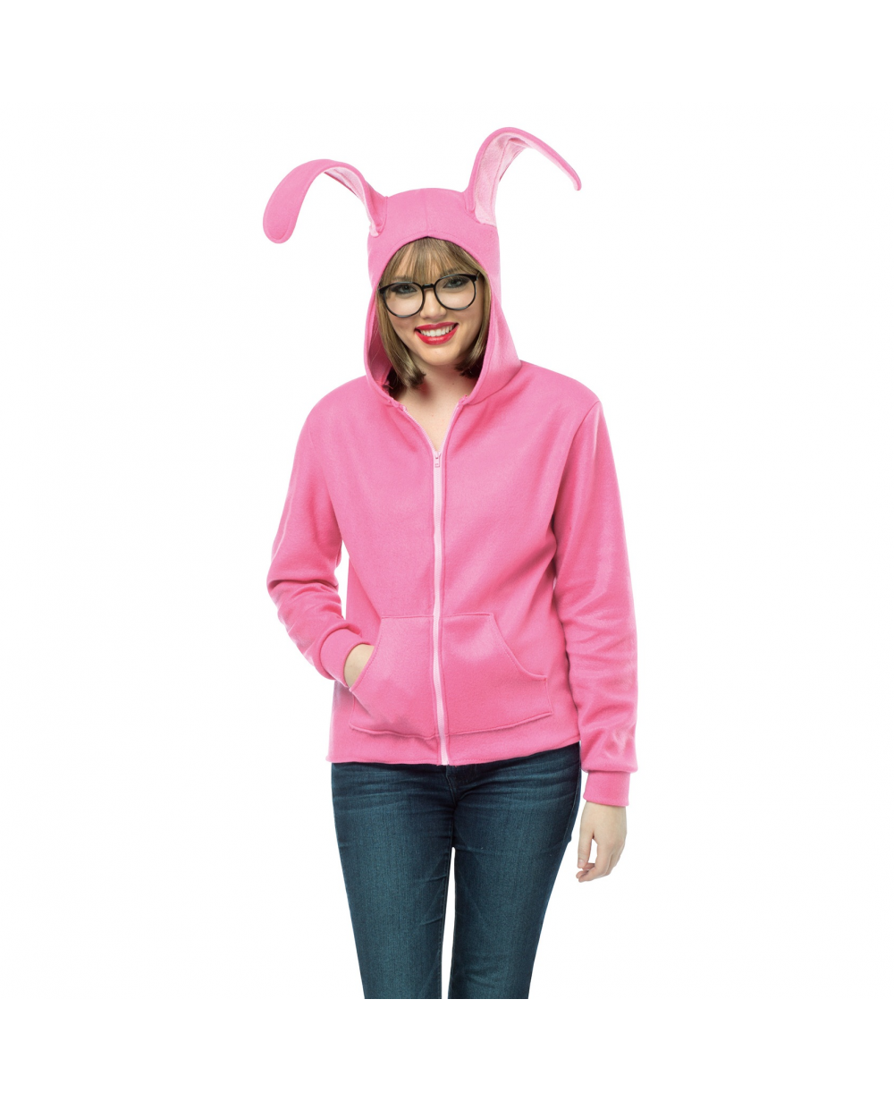 cdd564188e4 a christmas story bunny onesie on the hunt. a christmas story kid ...