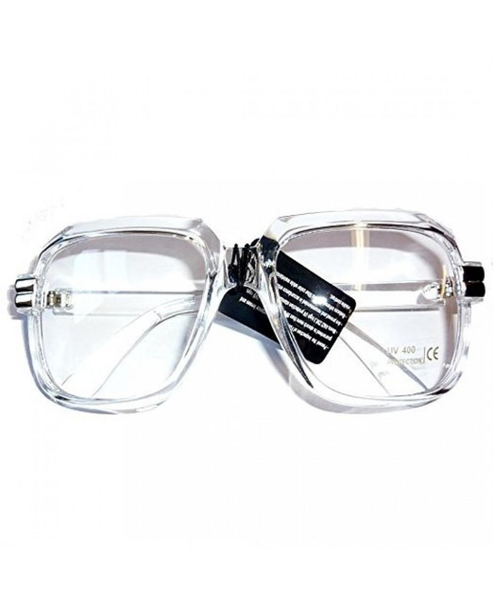 bf1753be2698 More Views. Oversized Clear Hip Hop Glasses