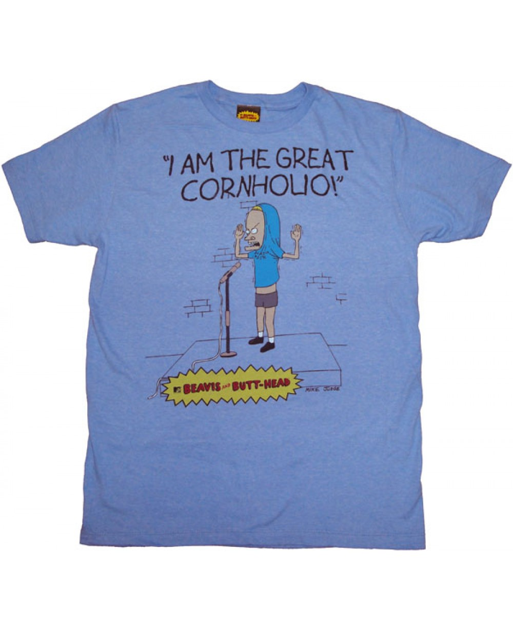 The great cornholio beavis and butthead t shirt The great t shirt