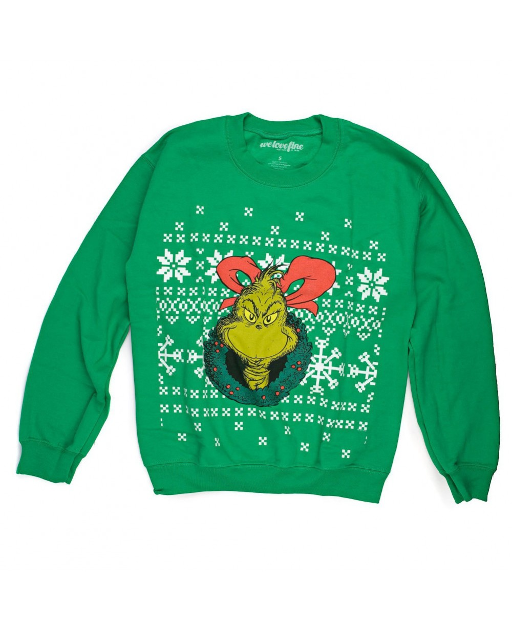 more views the grinch ugly christmas sweater