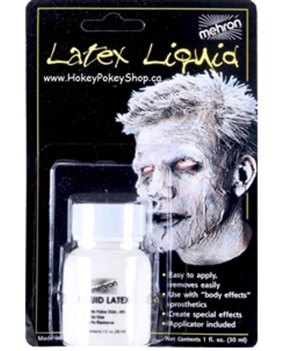 Liquid Latex Clear w/Brush 1oz Carded