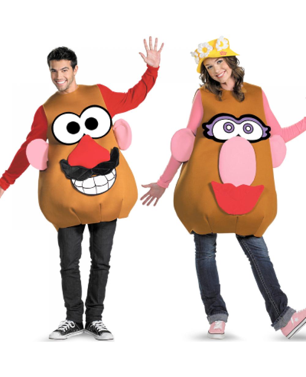 Homemade mr potato head costume