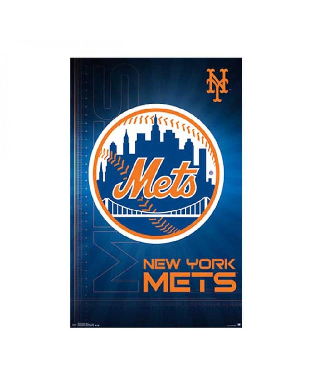 new york mets logo poster