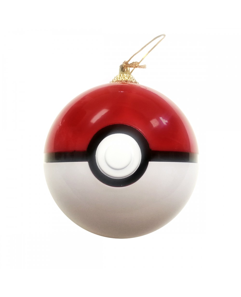 Pokemon Christmas Ornaments.Pokeball Christmas Tree Ornament