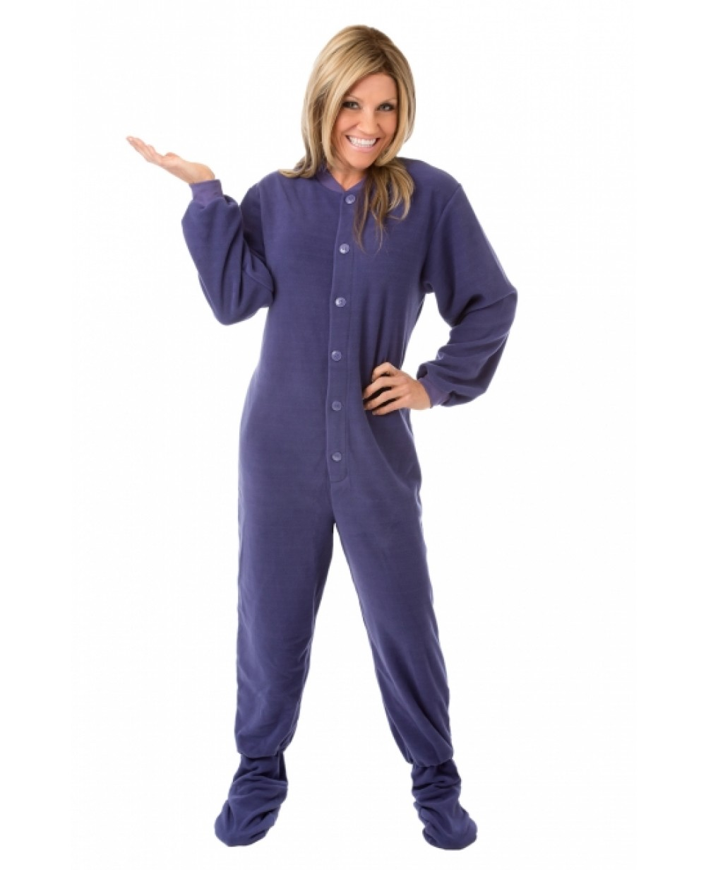 Adult pajamas with feet