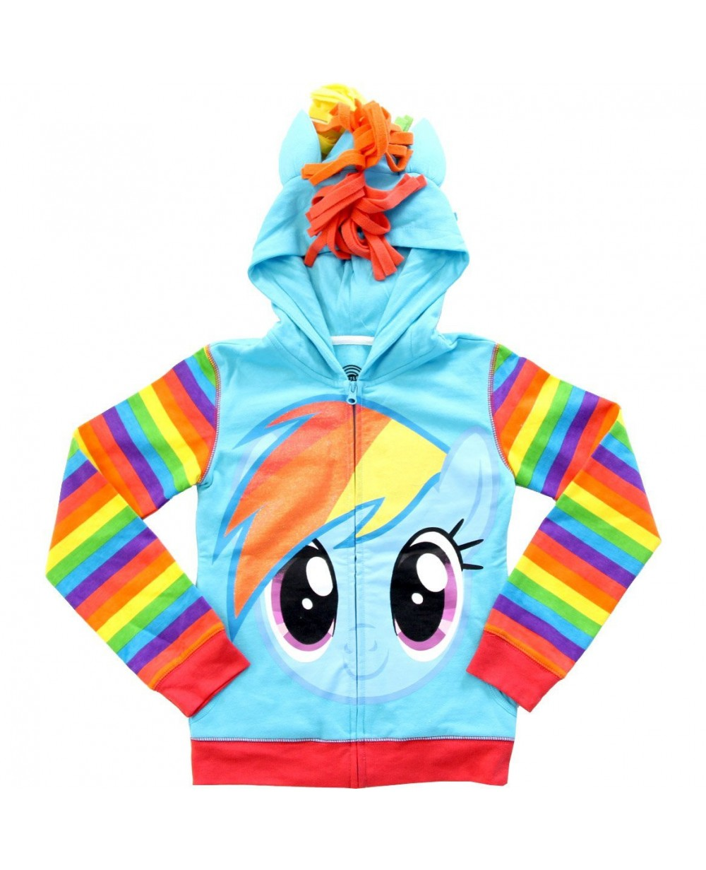 5dd5a6e7220 More Views. Rainbow Dash Glitter My Little Pony Youth Hoodie Costume