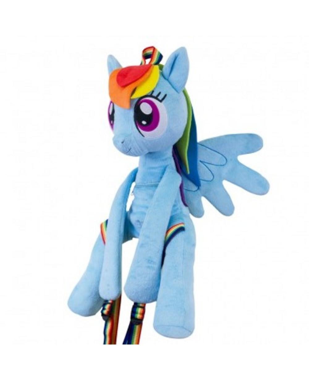 32bc705674f Rainbow Dash My Little Pony Plush Backpack