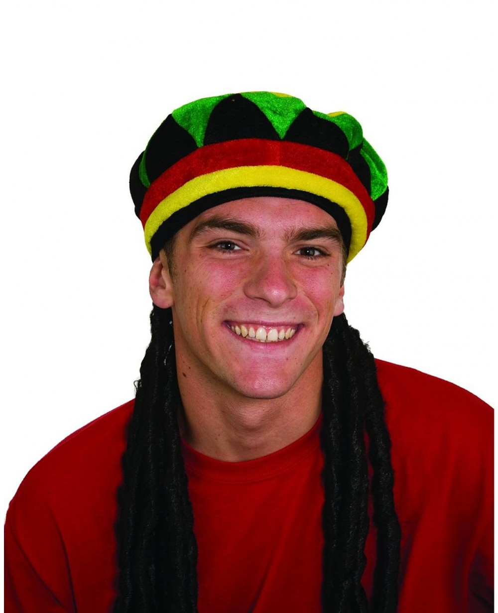 Dreadlocks Wig With Rasta Cap