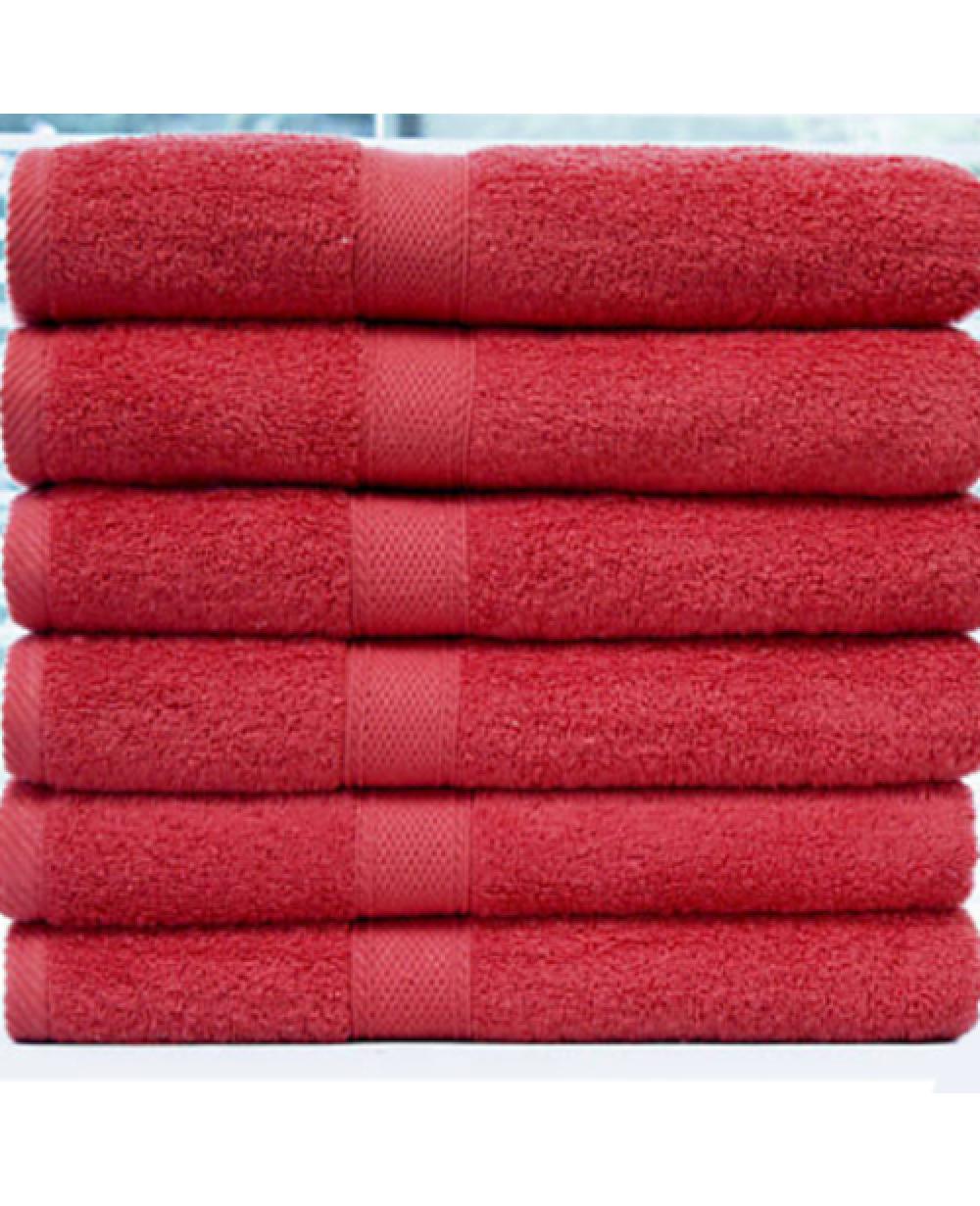 Red Towels Bathroom: Red Bath Towel