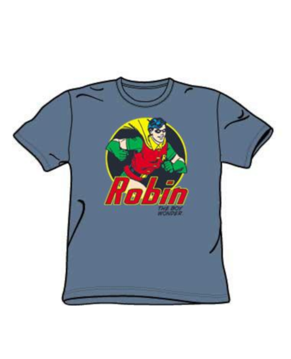 Robin Cartoon T Shirt