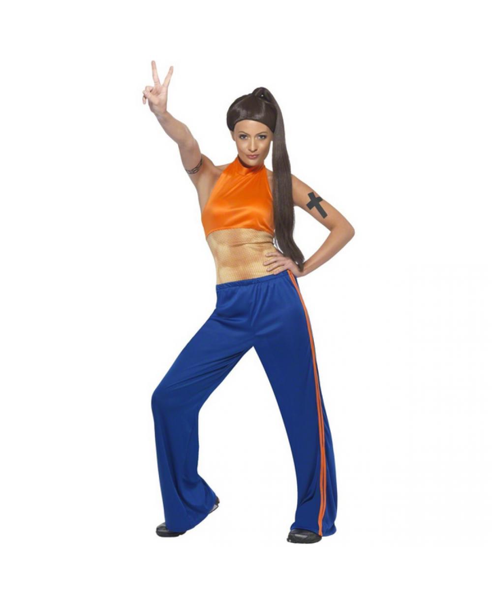Sporty Spice Spice Girls Womens Costume