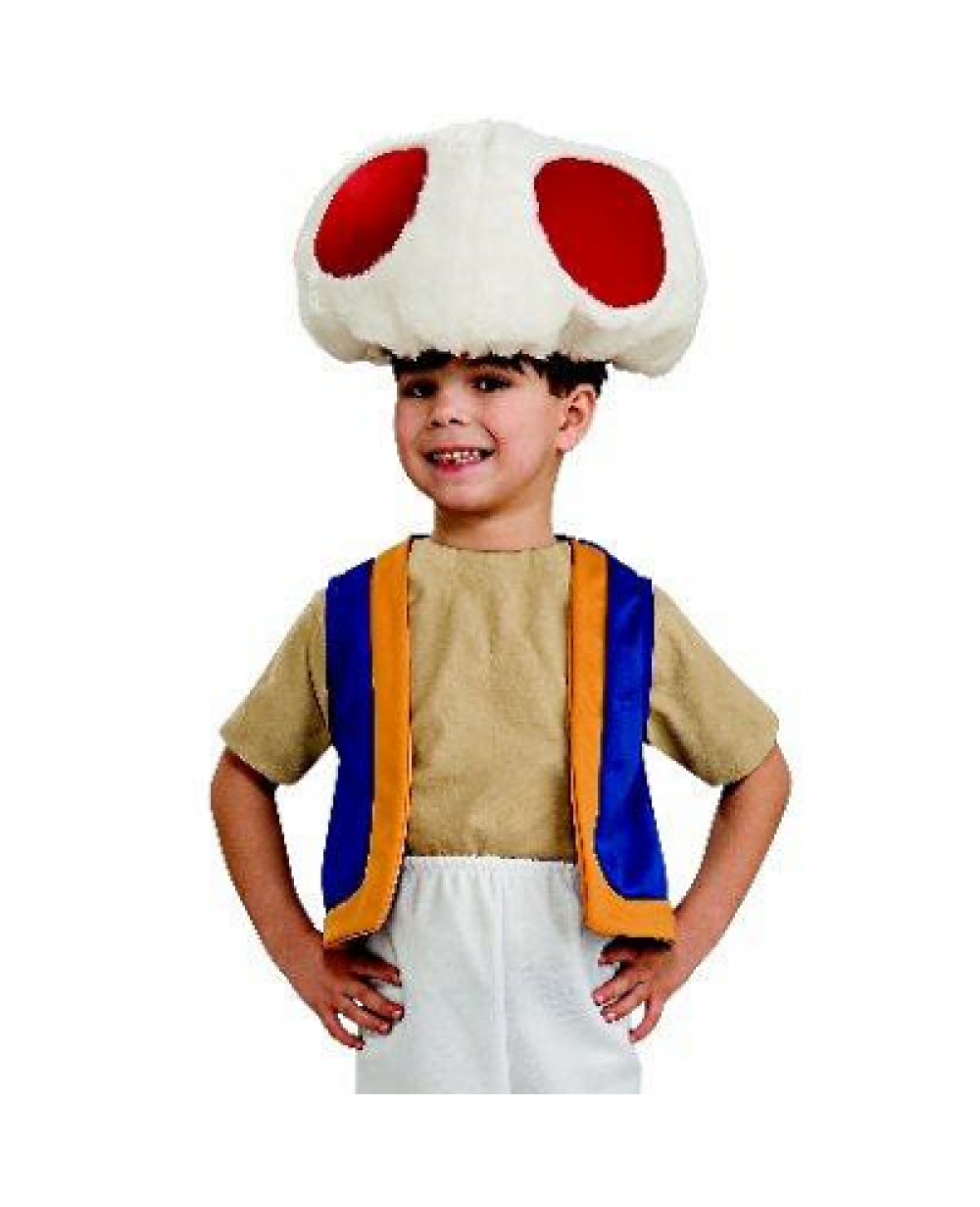 More Views. Toad Super Mario Brothers Child Costume  sc 1 st  MyPartyShirt.com & Toad Super Mario Brothers Youth Costume