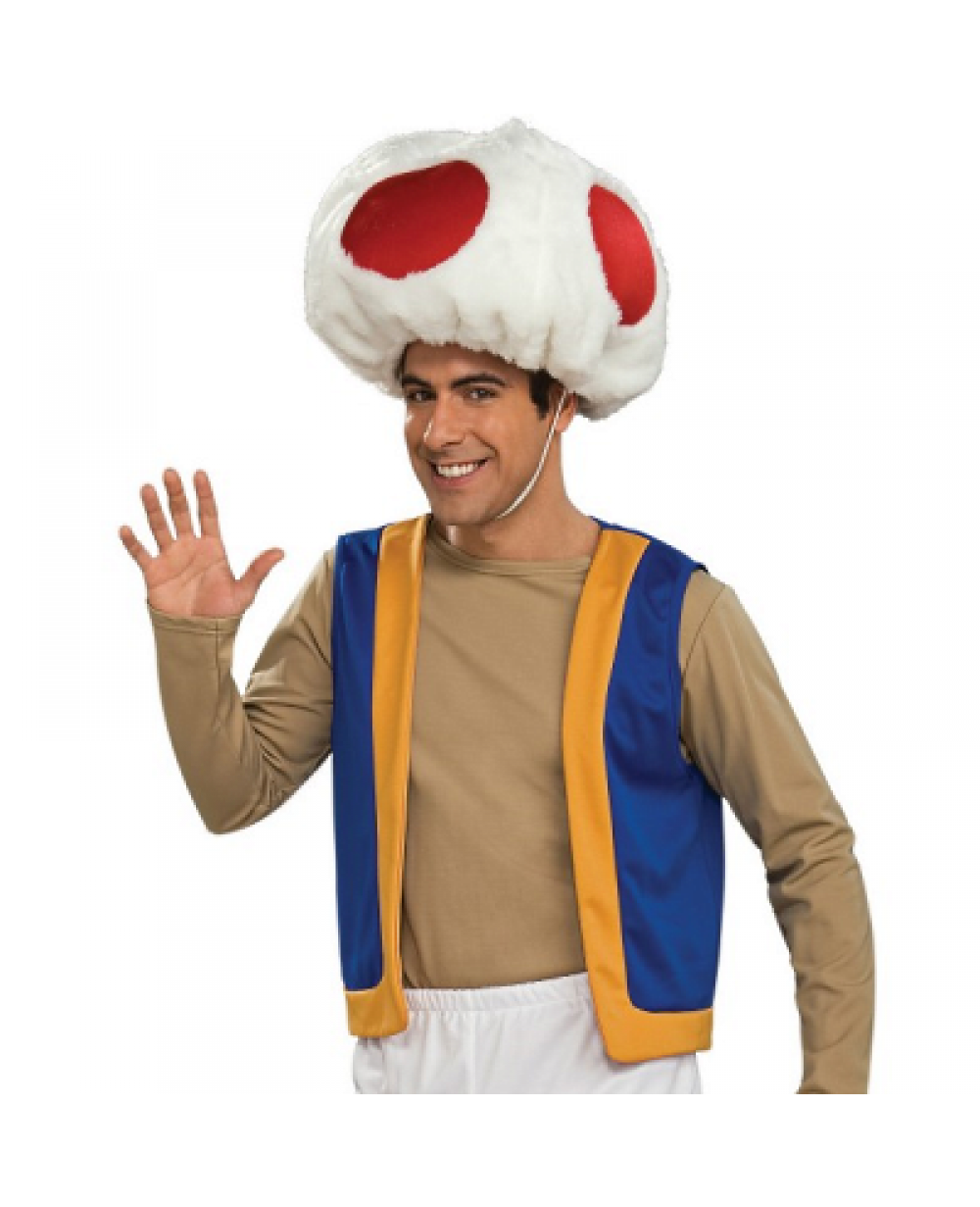 More Views Toad Super Mario Brothers Costume