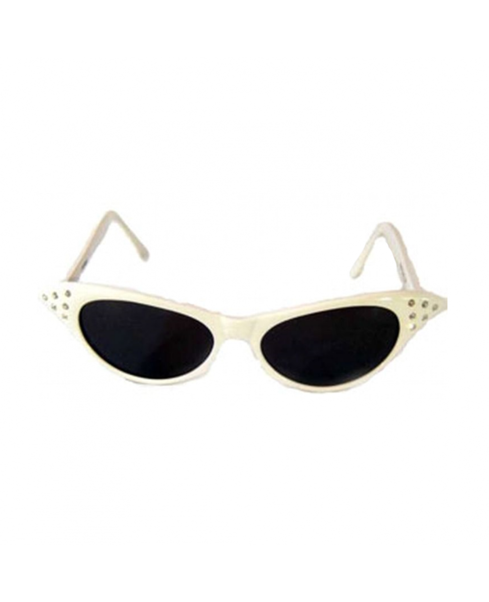 398ecab1ffa More Views. White Cat Eye Sunglasses