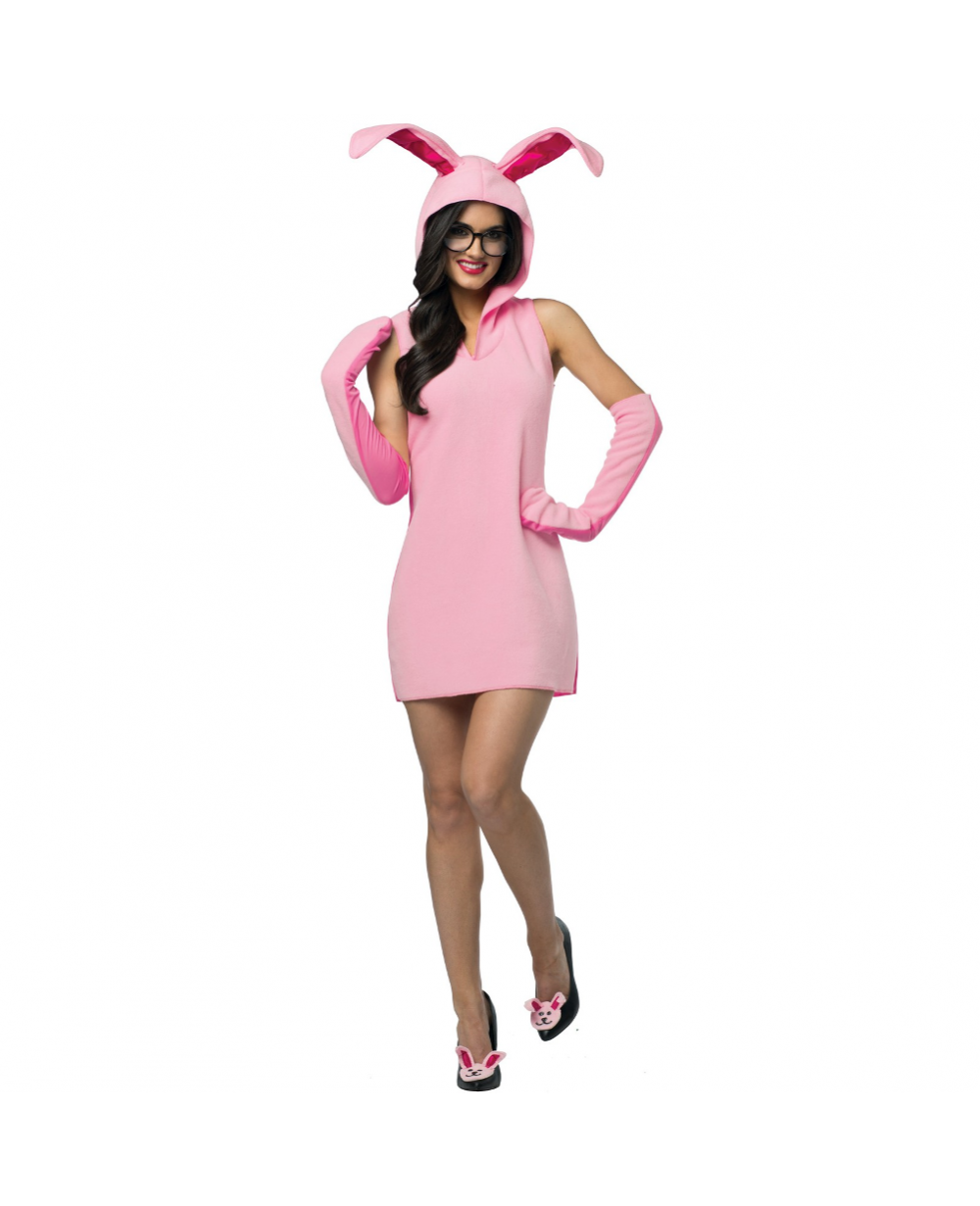 more views a christmas story ralphie womens bunny suit costume