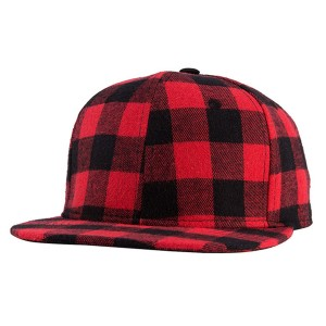 Little Pete Wrigley Red And Black Plaid Hat e3c680f9ebd