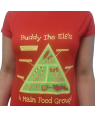 Buddy The Elf's 4 Main Food Groups T-Shirt