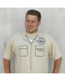 Hurley Reyes Dharma Initiative T-Shirt Costume