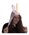 Louise Pink Bunny Ears Hat