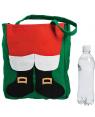 Fuzzy Santa Claus Tote Bag