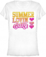 Summer Lovin Grease Womens T-Shirt