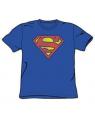 Distressed Superman Logo T-Shirt