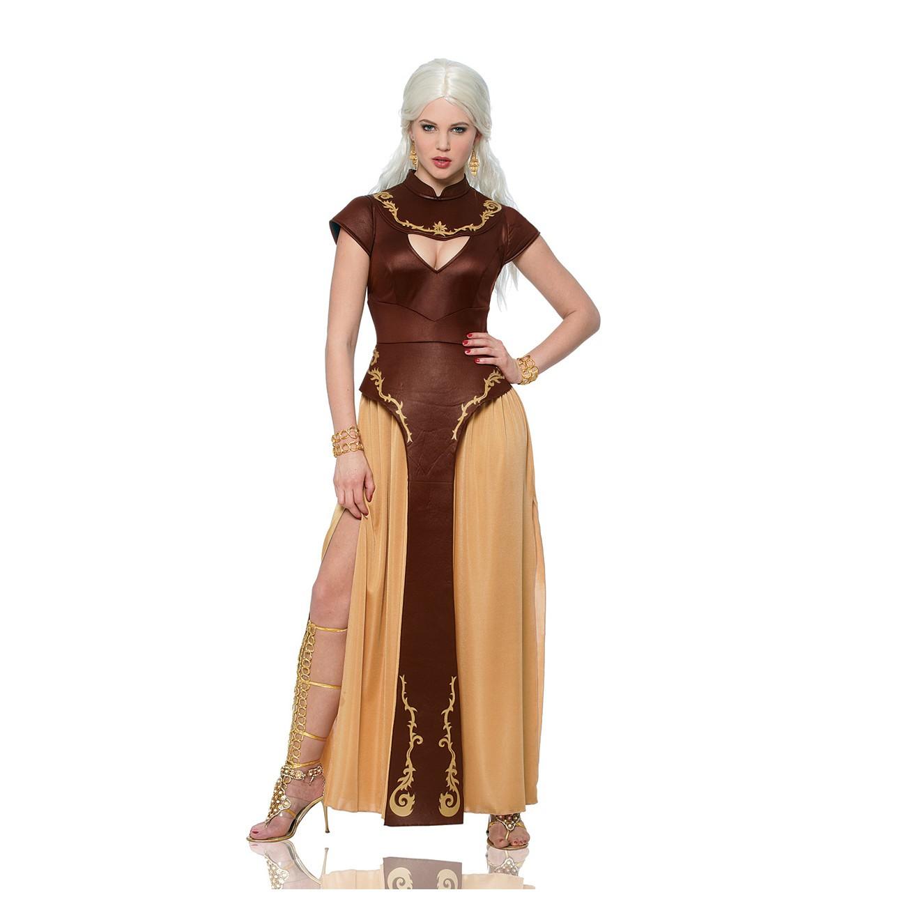 daenerys targaryen khalessi womens costume. Black Bedroom Furniture Sets. Home Design Ideas
