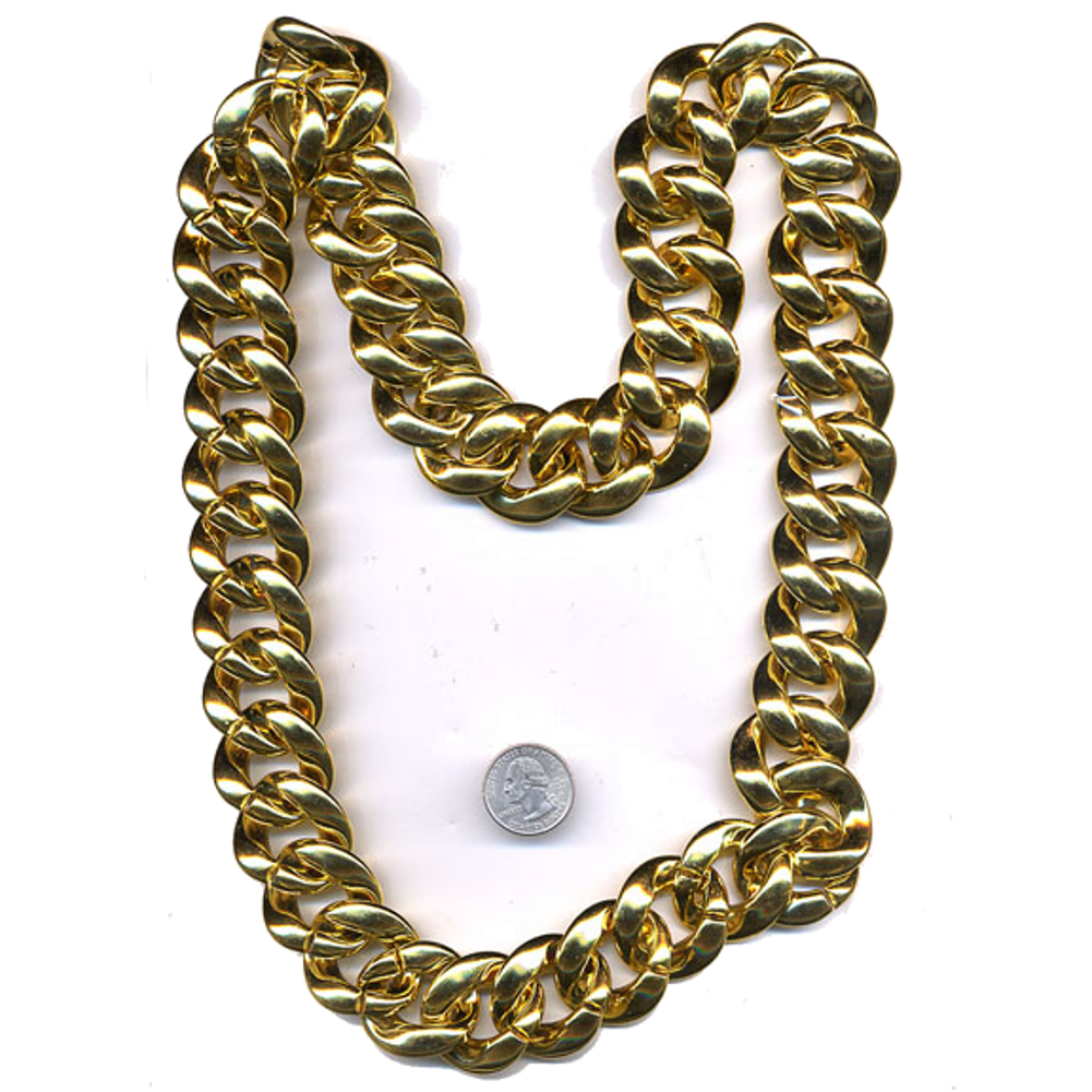 Rapper Gold Chain Necklace