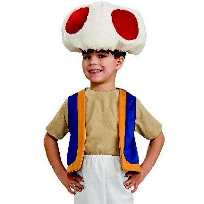 Toad Super Mario Brothers Youth Costume  sc 1 st  Meningrey & Toad Mario Costume - Meningrey