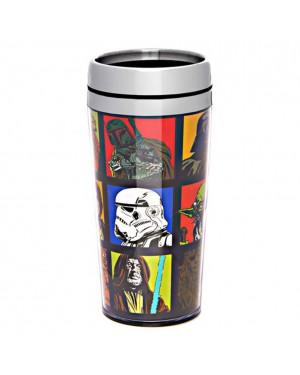 Star Wars 16oz Stainless Steel Travel Mug