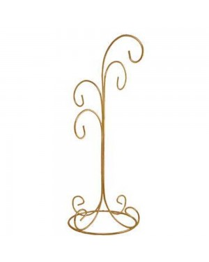 """14.5"""" Four Tier Ornament Stand"""