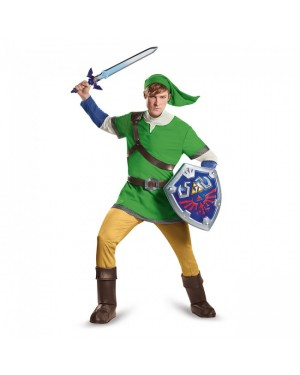 Link Legend Of Zelda Deluxe Adult Costume