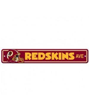 "Washington Redskins Ave Street Sign 4""x24"""