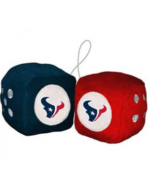 Houston Texans Fuzzy Dice