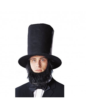 Abraham Lincoln Top Hat With Beard