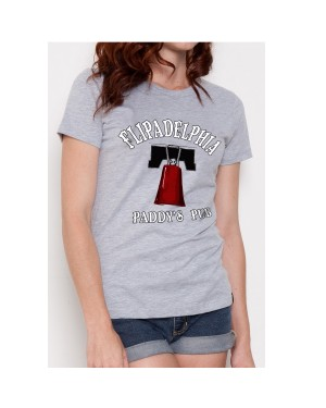 Flipadelphia It's Always Sunny in Philadelphia Womens T-Shirt