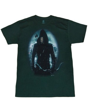 Arrow Oliver In Hood T-Shirt