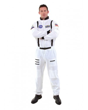 Astronaut Costume White