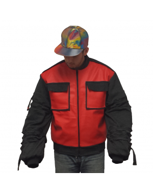 Marty McFly Jr. Jacket With Adjustable Sleeves